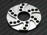 【ネコポス対応】ラップアップ(WRAP-UP)/0087-FD_0090-FD/ヒートシンクオフセットモーターアダプター3.0mm