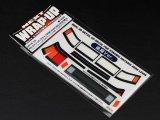 【ネコポス対応】ラップアップ(WRAP-UP)/REAL 3D ディテールアップデカール【YOKOMO HAYASHI AE86 LEVIN用】後期ver.