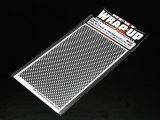 【ネコポス対応】ラップアップ(WRAP-UP)/REAL 3D グリルデカール 130×75mm(パンチメッシュ/太目)