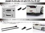 【ネコポス対応】RC-ART/ART6033/URASボーテックジェネレーター&サイドディフューザーSET
