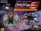 童友社(DOYUSHA)/D6-BK-M1_BL-M2/DRONE SIX(ドローンシックス)2.4GHz高性能6枚ローター ドローンRTF