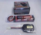 オリジナル/EPS-D/電動ラジコン用スタートパックD(AC急速充電器+4000バッテリー+放電器)