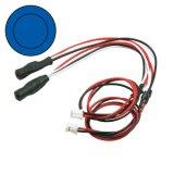 【ネコポス対応】イーグル(EAGLE)/LED-08-BL-BL〜LED-08-WI-WI/3mmツインアクションイカリング・LEDシステム用