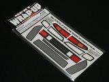 【ネコポス対応】ラップアップ(WRAP-UP)/W0016-14/REAL 3D ディテールアップデカール(YOKOMO 460パワー S14シルビア用)