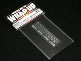 【ネコポス対応】ラップアップ(WRAP-UP)/W0023-04/REAL 3D フロントグリル&ドアノブデカール(YOKOMO C35ローレル用)TYPE-B