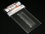 【ネコポス対応】ラップアップ(WRAP-UP)/W0023-05/REAL 3D フロントグリル&ドアノブデカール(YOKOMO JZX100チェイサー ストリート用)TYPE-A