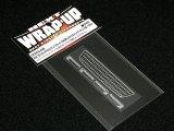 【ネコポス対応】ラップアップ(WRAP-UP)/W0023-06/REAL 3D フロントグリル&ドアノブデカール(YOKOMO JZX100チェイサー ストリート用)TYPE-B