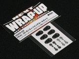 【ネコポス対応】ラップアップ(WRAP-UP)/W0029-02/REAL 3D ボンネットピンデカールセット