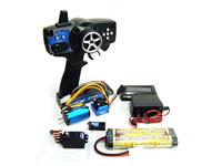 電動カー/組立キット 2.4G MX-3SGブラシレスセットの内容