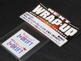 【ネコポス対応】ラップアップ(WRAP-UP)/REAL 3DナンバープレートU.S. 2枚入(I LOVE DRIFT)