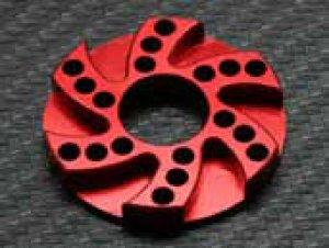 画像4: 【ネコポス対応】ラップアップ(WRAP-UP)/0091-FD_0094-FD/ヒートシンクオフセットモーターアダプター5.0mm