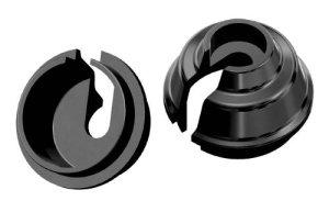 画像2: 【ネコポス対応】ラップアップ(WRAP-UP)/0492-FD__0496-FD/レートアップスプリングリテーナー 8mm(2pcs)