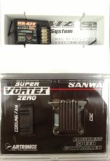 SANWA(サンワ) SUPER VORTEX ZEROブラシレスESC+RX-472 コンボセット