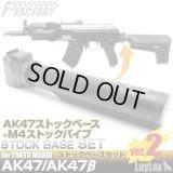LayLax(ライラクス)/LA141705/F.FACTORY 東京マルイ AK47用 ストックベース Ver.2
