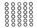 【ネコポス対応】TAMIYA(タミヤ)/シムセット(5x7mm,厚み3種x10枚)