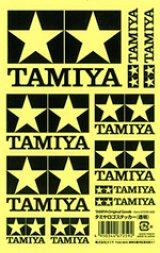 【ネコポス対応】タミヤ(TAMIYA)/67259/TAMIYA(タミヤ)ロゴステッカー 透明