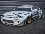 アディクション(ADDICTION)/AD016-6/S15 ROCKETBUNNY FULL KIT(未塗装)