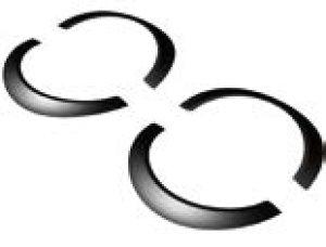 画像3: 【ネコポス対応】RC-ART/ART6040/URAS汎用セミワークスフェンダー  (6mm逆反りタイプ)   4pcs