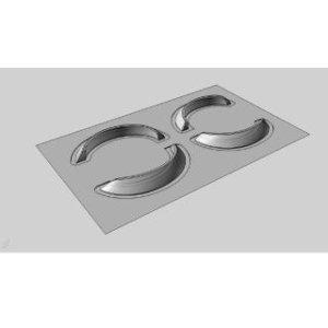 画像1: 【ネコポス対応】RC-ART/ART6050/TypeF仕様 10mmワークスフェンダー