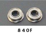 【ネコポス対応】TOP LINE(トップライン)/BGU-840F/ウルトラベアリング 840フランジ付き(外径8mm×内径4mm×厚さ3mm)2個入