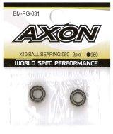 【ネコポス対応】AXON(アクソン)/BM-PG-031__BM-PG-035/X10 ボールベアリング 2個入