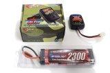 オリジナル/EPS-B2/電動ラジコン用スタートパックB2(AC急速充電器+2300バッテリー+ストレージ放電器)
