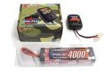 オリジナル/EPS-D2/電動ラジコン用スタートパックD2(AC急速充電器+4000Ni-MHバッテリー+ストレージ放電器)