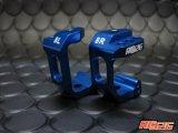 【ネコポス対応】KN企画/KN-DP39KB/【RC926】 ドリパケ/D-MAX用 アルミフロントハブキャリア(Cハブ)Type-2 キャスター角8度