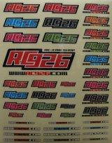 【ネコポス対応】KN企画/KN-ST04/【RC926】 RC926ロゴデカールセット