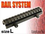 【ネコポス対応】LayLax(ライラクス)/LA182048/ハイマウントレイル L(134.7mm)