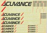 【ネコポス対応】アキュヴァンス(ACUVANCE)/OP-15008/【ACUVANCE】ロゴデカール