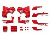 (10月18日発売予定/予約分)タミヤ(TAMIYA)/OP-1918/OP.1918 T3-01 Cパーツ(フレーム)(レッド)