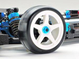 画像2: 【ネコポス対応】タミヤ(TAMIYA)/OP-1994/OP.1994 ファイバーモールドレーシングタイヤ (ソフト 24mm幅 2本)