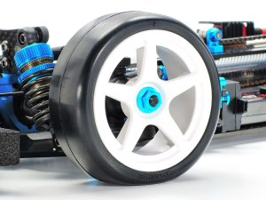 画像2: 【ネコポス対応】タミヤ(TAMIYA)/OP-2000/OP.2000 ファイバーモールドレーシングタイヤ (ミディアム 24mm幅 2本)