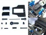 【ネコポス対応】スクエア(SQUARE)/SCC-7025_SCC-7023/タミヤCC-02用ラグランジュサーボマウントセット(フタバ用)