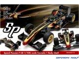 OPTION No.1(オプションNo.1)/SP000179/Speed Passion(スピードパッション) F-68 F-1 ボディー (クリヤ/1:10スケール)