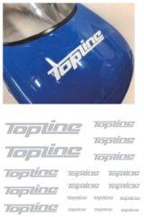 【ネコポス対応】TOPLINE(トップライン)/TP-103__TP-106/TOPLINEオリジナル切り文字ステッカー typeA